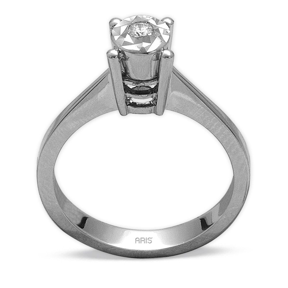 0,05 ct  Diamond Solitärring