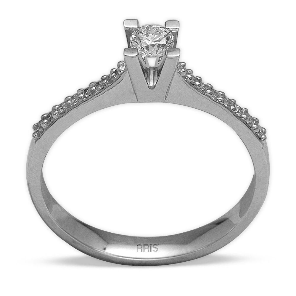 0,28 ct  Diamond Solitärring