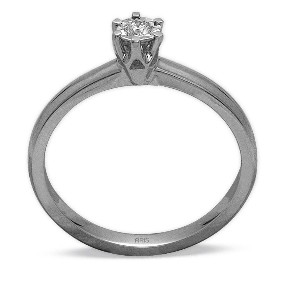 0,05 ct  Diamant Solitärring