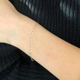 585 er Gelbgold Armband