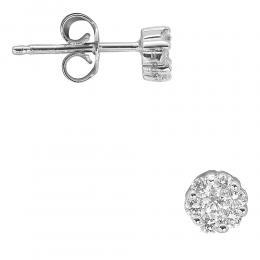0.29 Ct Diamant Ohrring