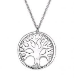 Silber Lebensbaumkette