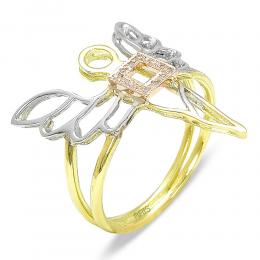 0,03 ct Diamant Erzengel des Wohlstands - Ariel Ring