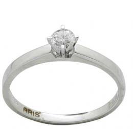 0,23 Ct. Diamant Solitaire Ring
