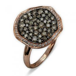 1,43 ct Braun Diamant Ring