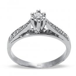0,29 ct Diamant Solitaire Ring