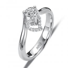 0,23 ct  Diamant Ring
