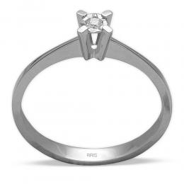 Diamant Miracle Solitärring 0.15 ct. Ansicht
