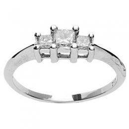 0,48 ct  Diamant Ring