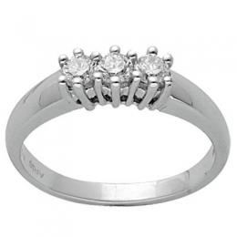 0,34 ct  Diamant Ring