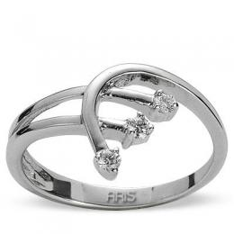 0,12 ct  Diamant Ring