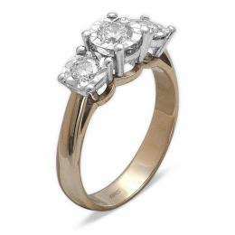 0,56 ct Diamant Miracle Tria Ring