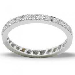 0,40 ct  Diamant Ring