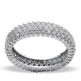 1,50 ct  Diamant Memoire Ring