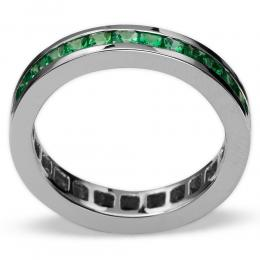 2,34 ct  Smaragd Ring