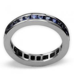2,01 ct  Saphir Ring