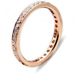 0,38 ct  Diamant Ring