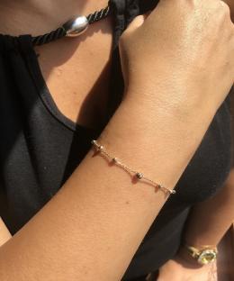 Italienisches Modell Dorica Gold Armband
