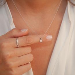 0,07 ct Diamant Baguette-Schliff Ringe