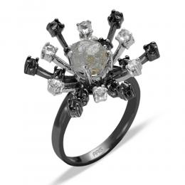 2,41 ct Rohdiamant Ring