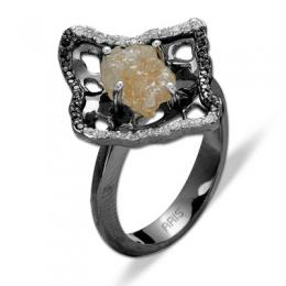 3,56 ct Rohdiamant Ring