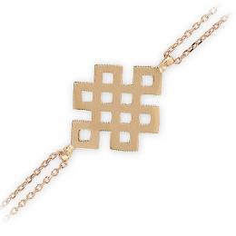 333er 8K Gold Symbol Armband