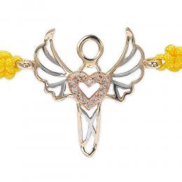 0,03 ct Diamant Erzengel der Liebe Gabriel Armband