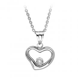 Herz Diamant Kette