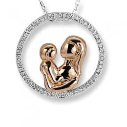 0,28 ct Diamant Eternal Love Kette