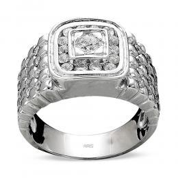 1,82 ct Diamant Männlicher Ring