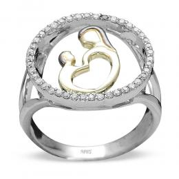 0,21 ct Diamant Eternal Love Ring