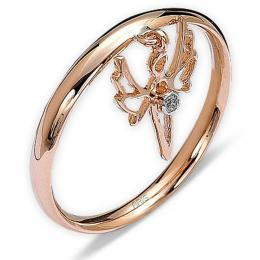0,01 ct Diamant Light of Angels Ring