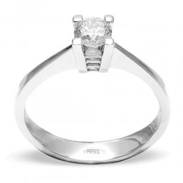 0,38 Ct. Diamond Solitare Ring