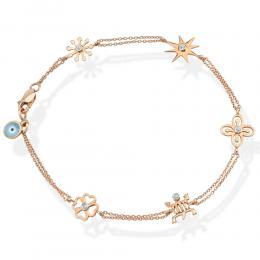 0,05 ct Diamant Adinkra Armband