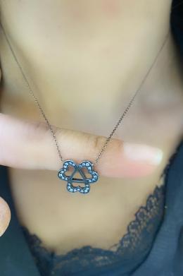 0,14 ct Diamant Treue Kette