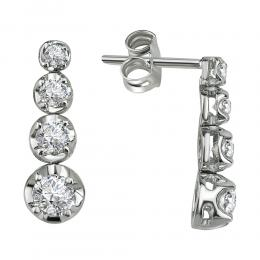 0,78 ct Diamant Ohrringe