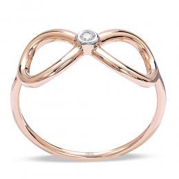 0,02 ct Diamant Ewigkeit Ring