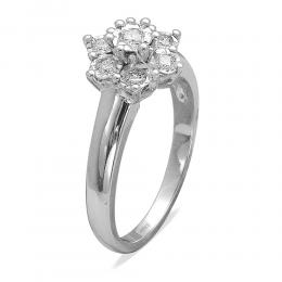 0,27 ct Diamant Miracle Fantasie Ring
