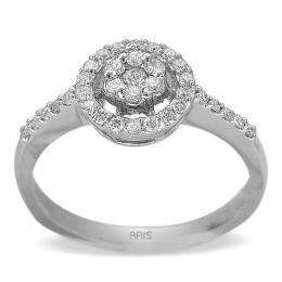 0,37 ct Diamant Effect Ring