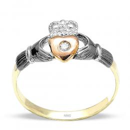 0,02 ct Diamant Ring
