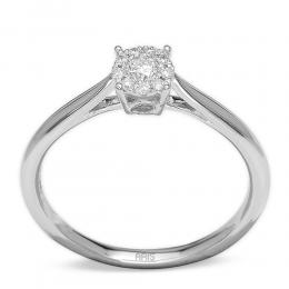0,14 ct Diamant Effect Ring