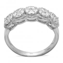 0,88 ct Diamant Fantasie Ring