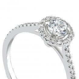 0,45 ct Diamant Verlobungsring