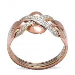 0,10 ct Diamant Fantasie Ring