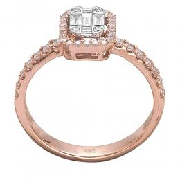 0,49 ct Diamant Fantasie Ring
