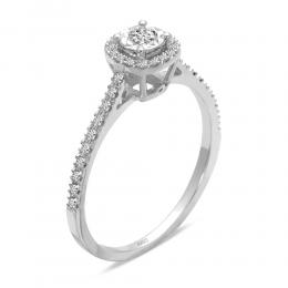 0,20 ct Diamant Miracle Verlobungsring