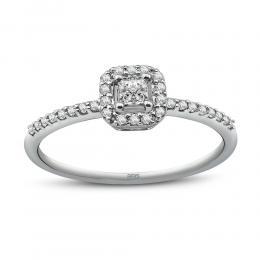 0,28 ct Diamant Verlobungsring