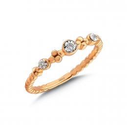 0,06 ct Diamant Miracle Ring
