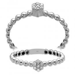 0,06 ct Diamant Effect Ring