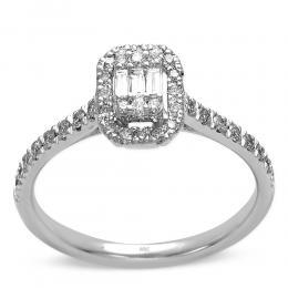 Baguette  Diamant Ringe